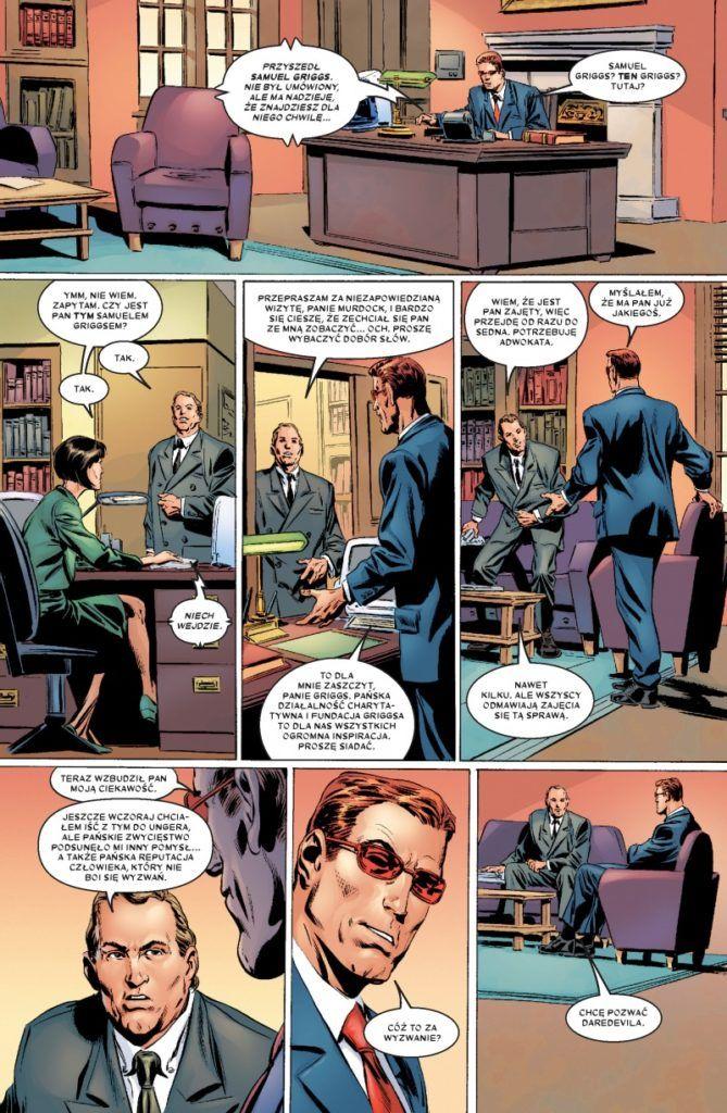 """""""Daredevil: Nieustraszony! 0"""" - przykładowa strona"""