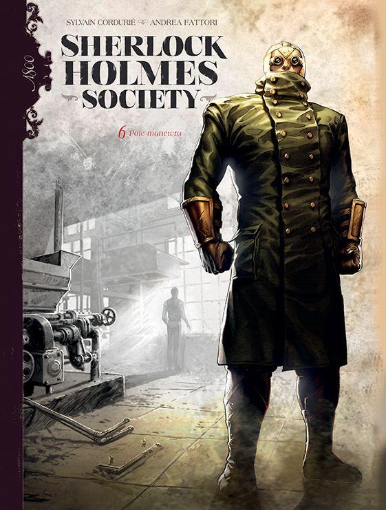 Sherlock Holmes Society, tom 6 - okładka