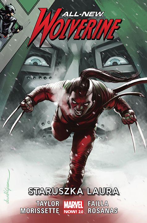 All-New Wolverine - okładka