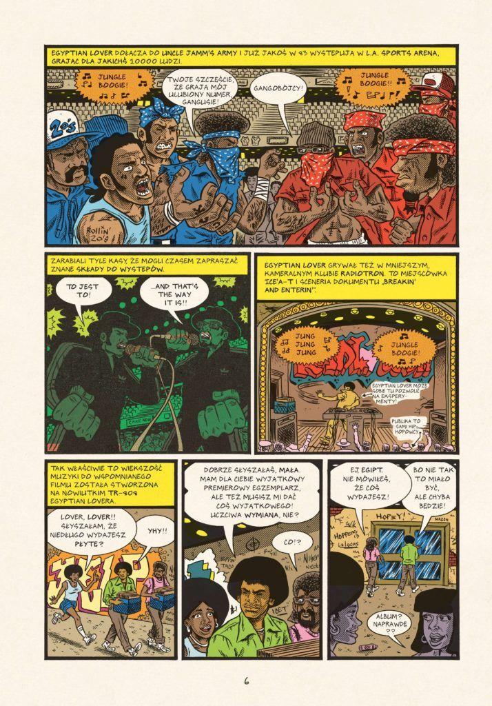Hip-Hop Genealogia, tom 4 - przykładowa strona