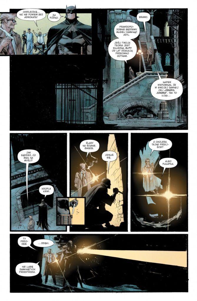 """""""Batman: Klątwa Białego Rycerza"""" - przykładowa strona"""