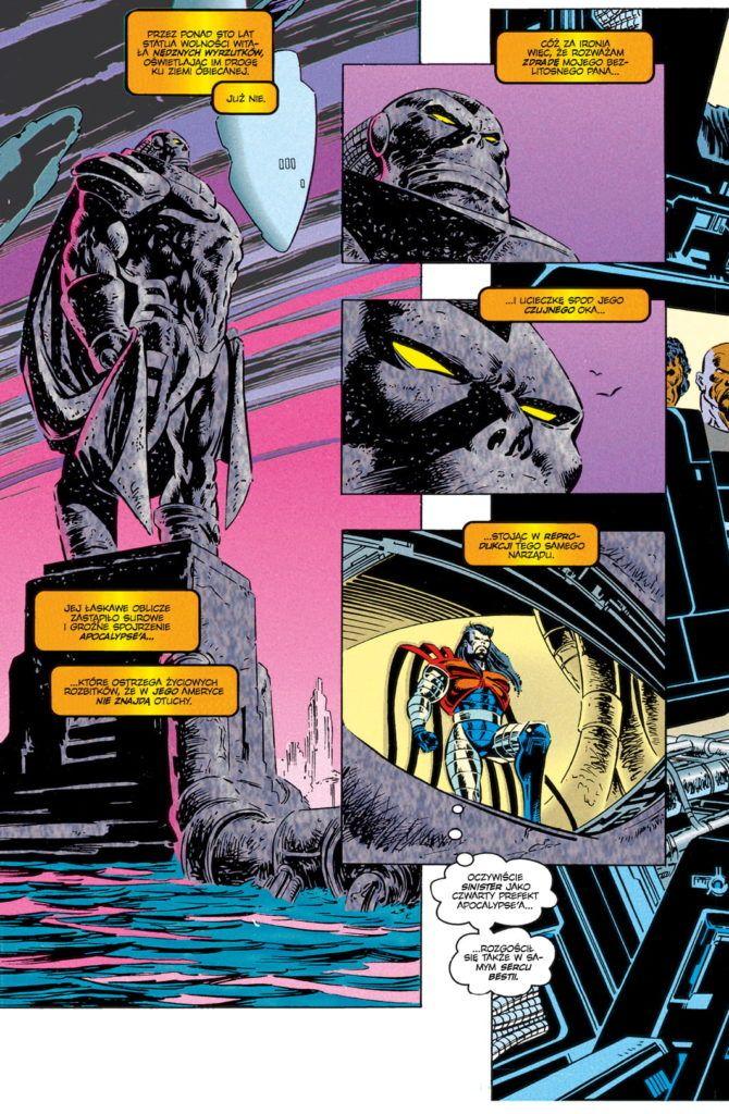 Era Apocalypse'a, tom 2 - przykładowa strona