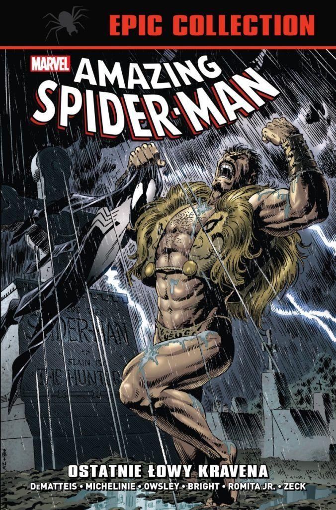 """""""Amazing Spider-Man: Ostatnie łowy Kravena (Epic Collection) - okładka"""