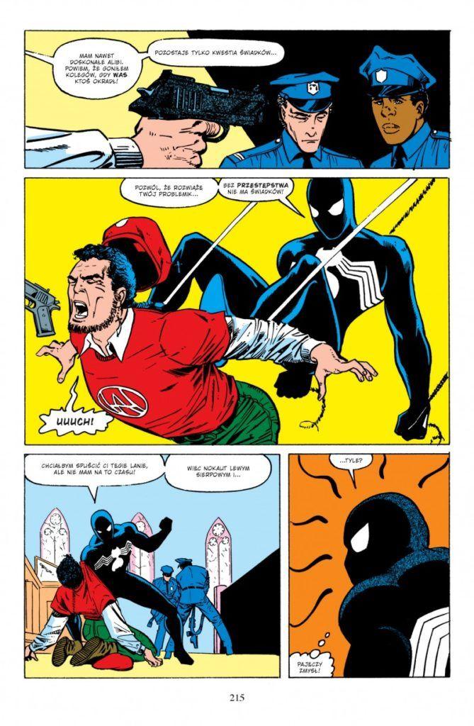 """""""Amazing Spider-Man: Ostatnie łowy Kravena (Epic Collection) - przykładowa strona"""