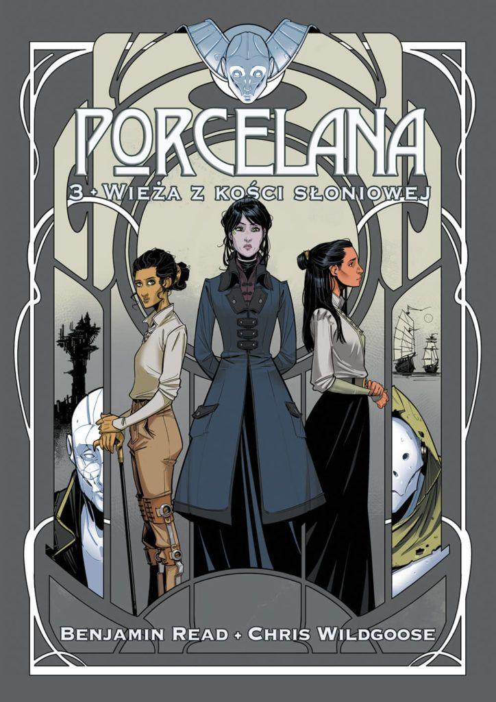 Porcelana, tom 3 - okładka