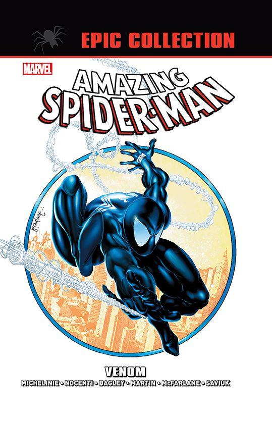 Amazing Spider-Man Epic Collection, Venom - okładka