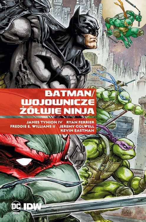 Batman i Wojownicze Żółwie Ninja - okładka