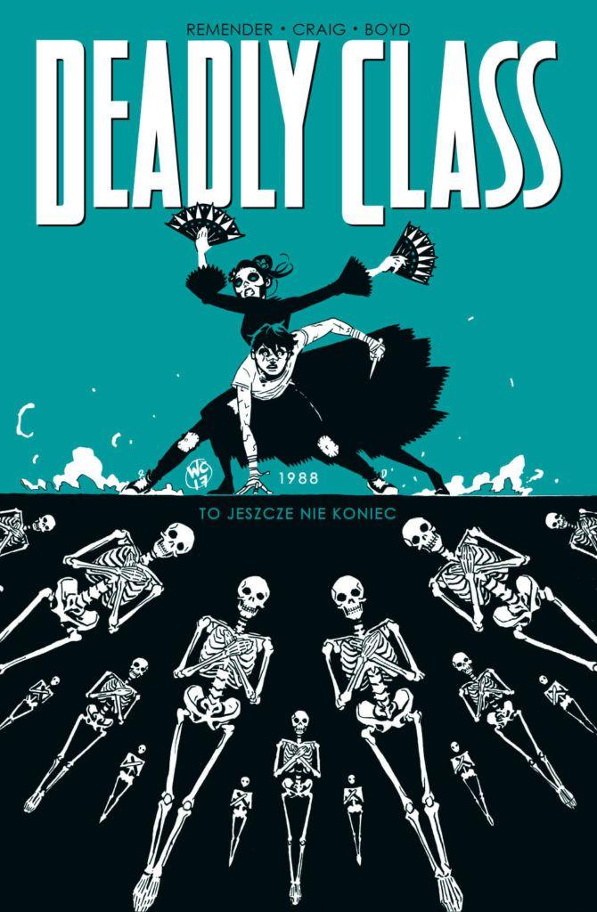 Deadly Class, tom 6 - okładka