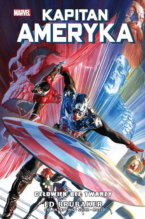 Kapitan Ameryka, tom 5 - okładka