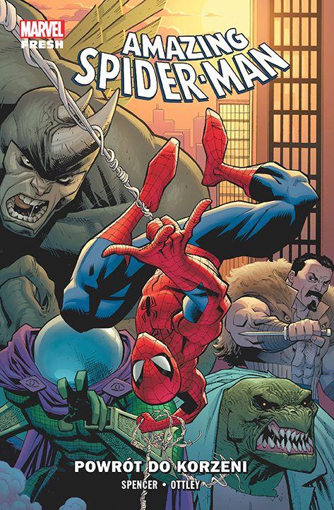 Amazing Spider-Man, tom 1 - okładka