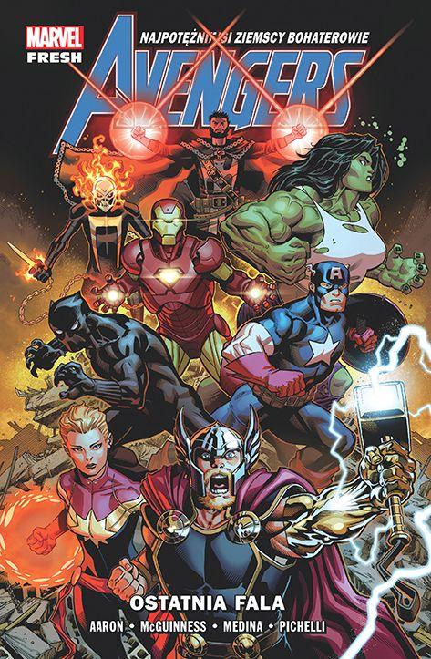 Avengers, tom  1 - okładka