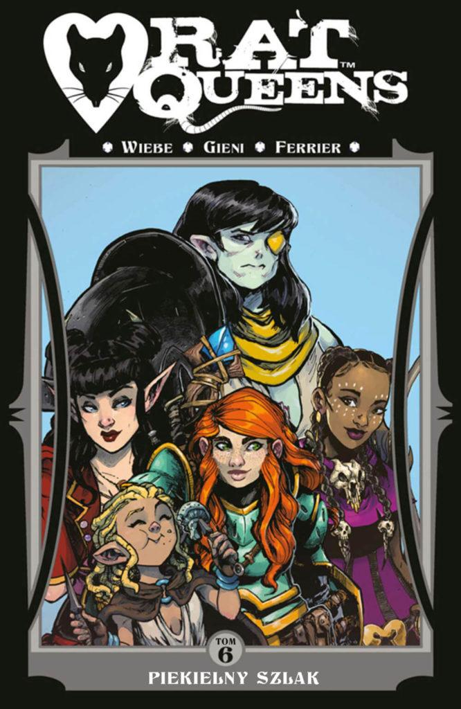 Rat Queens, tom 6 - okładka