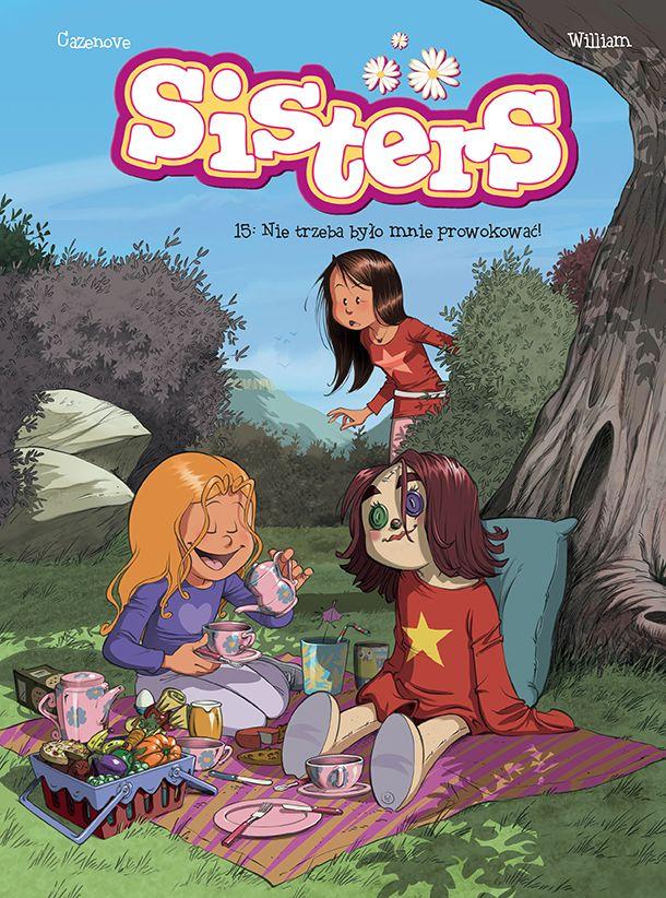 Sisters, tom 15 - okładka