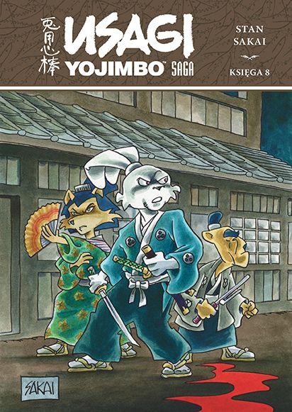Usagi Yojimbo, tom 8 - okładka
