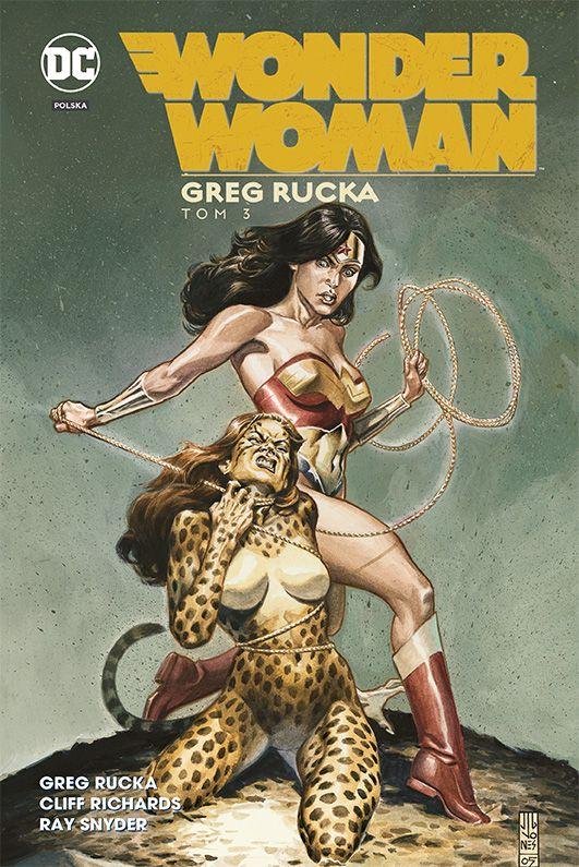 Wonder Woman, tom 3 - okładka