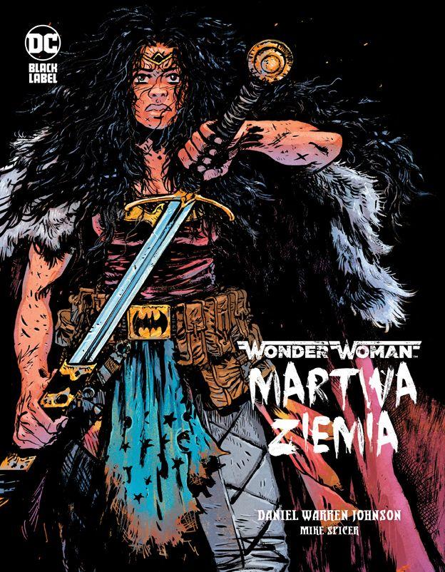 Wonder Woman. Martwa Ziemia - okładka