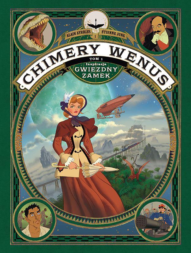 Chimery Wenus - okładka