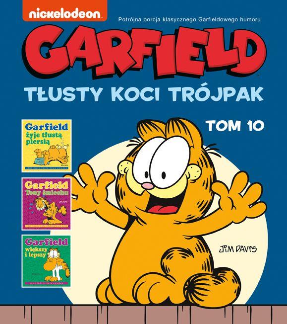 Garfield, tom 10 - okładkaa