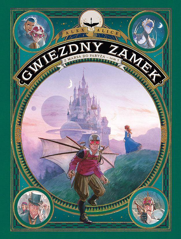 Gwiezdny Zamek, tom 5 - okładka