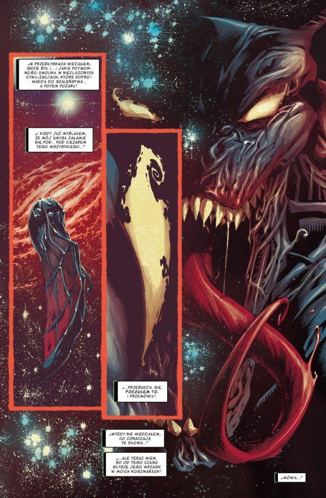 """""""Venom"""" - Tom 1 - przykładowa strona"""