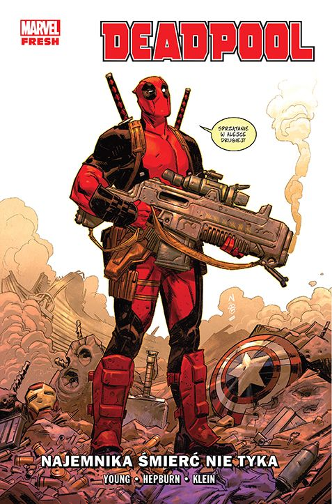 Deadpool, tom 1 - okładka