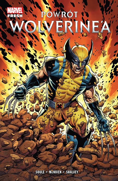 Powrót Wolverine'a - okładka