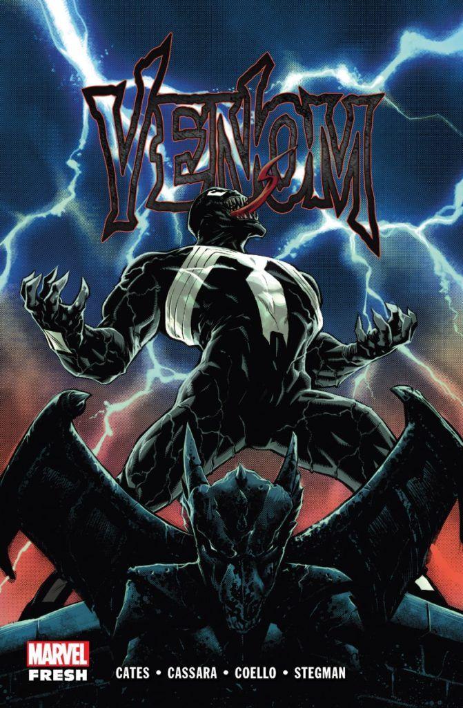 """Venom"" - Tom 1 - okładka"