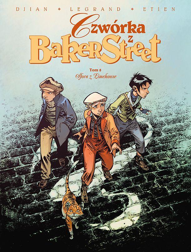 Czwórka z Baker Street, tom 8 - okładka
