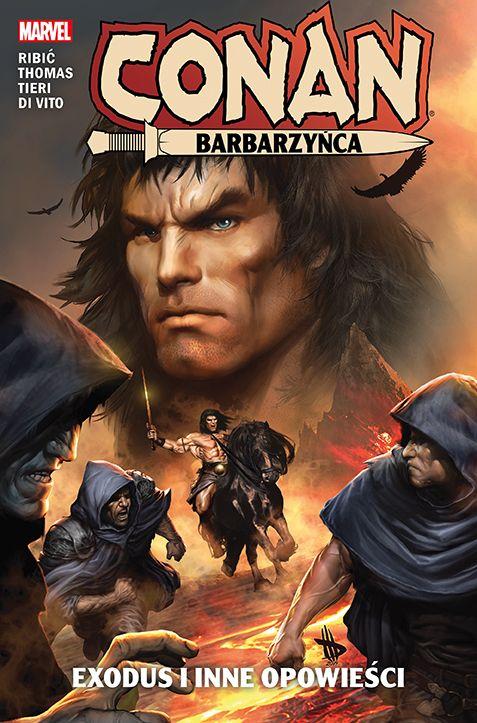 Conan Barbarzyńca, tom 3 - okładka