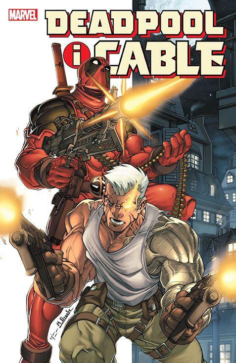 Deadpool i Cable, tom 1 - okładka