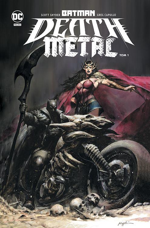 Batman Metal - okładka