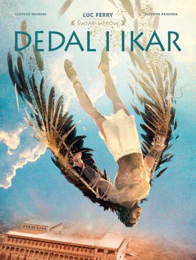 Dedal i Ikar - okładka