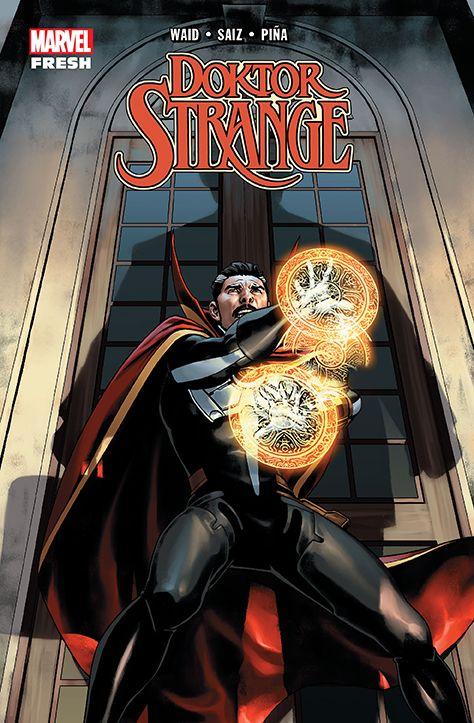 Doktor Strange - okładka