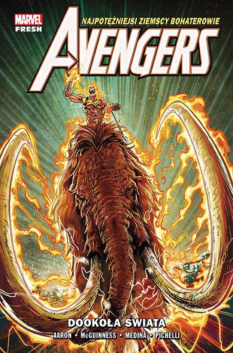 Avengers, tom 2 - okładka