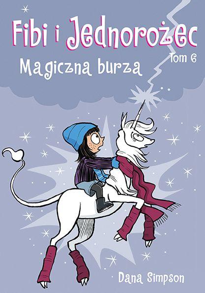 Fibi i Jednorożec, tom 6 - okładka
