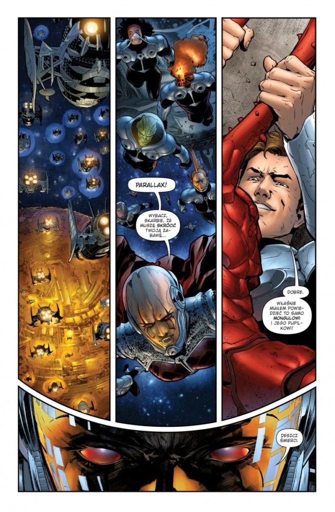 """""""Green Lantern"""" - Tom 3 - przykładowa strona"""