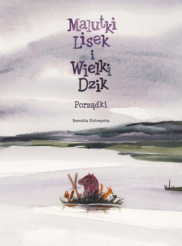 Malutki Lisek i Wielki Dzik, tom 7 - okładka