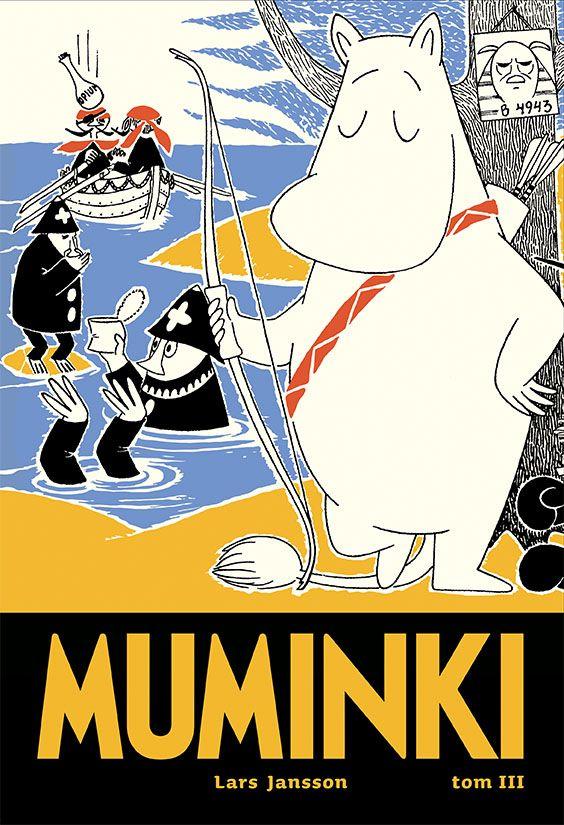 Muminki, tom 3 - okładka