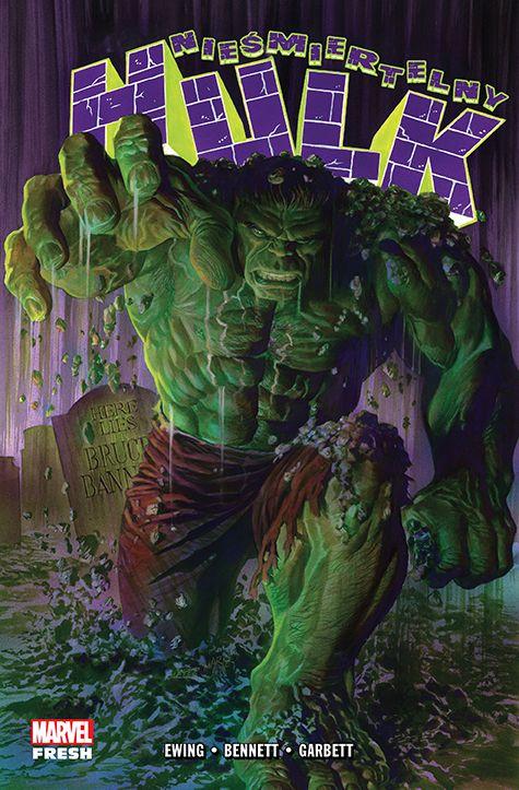 Nieśmiertelny Hulk - okładka