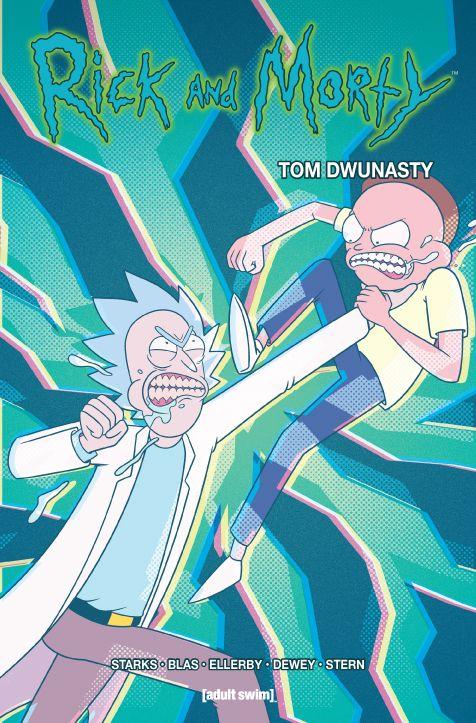 Rick i Morty, tom 12 - okładka