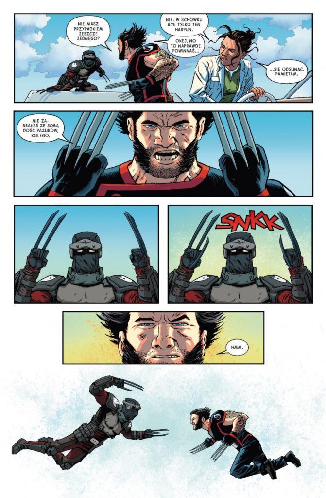 """""""Powrót Wolverine'a"""" - przykładowa strona"""