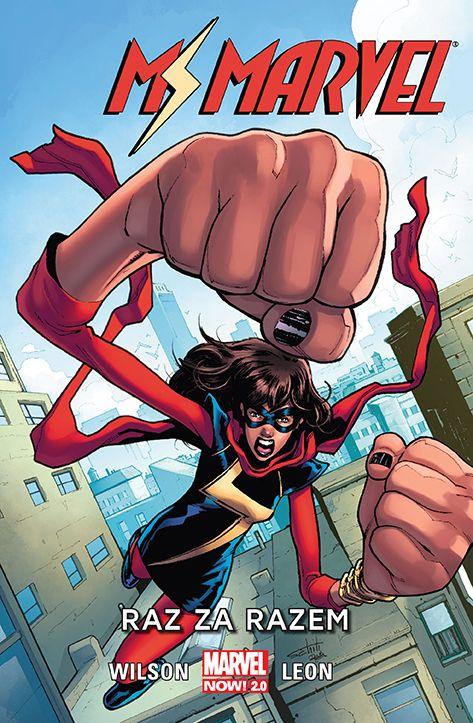 Ms Marvel - okładka