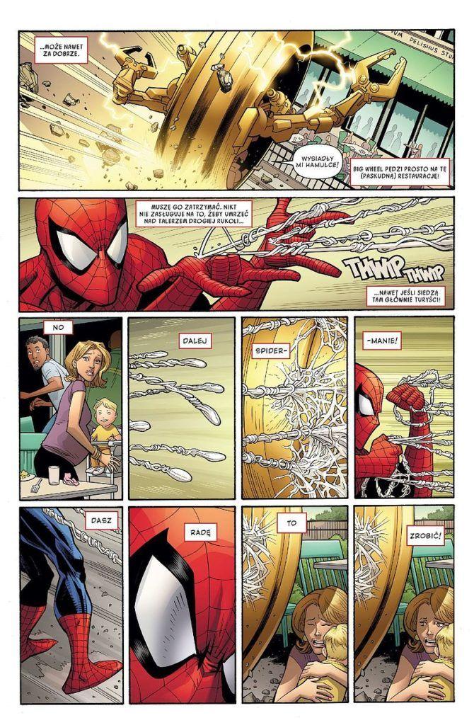 Amazing Spider-Man - rys. Ryan Ottley