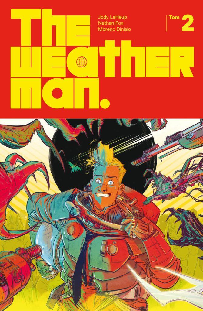 The Weatherman, tom 2 - okładka