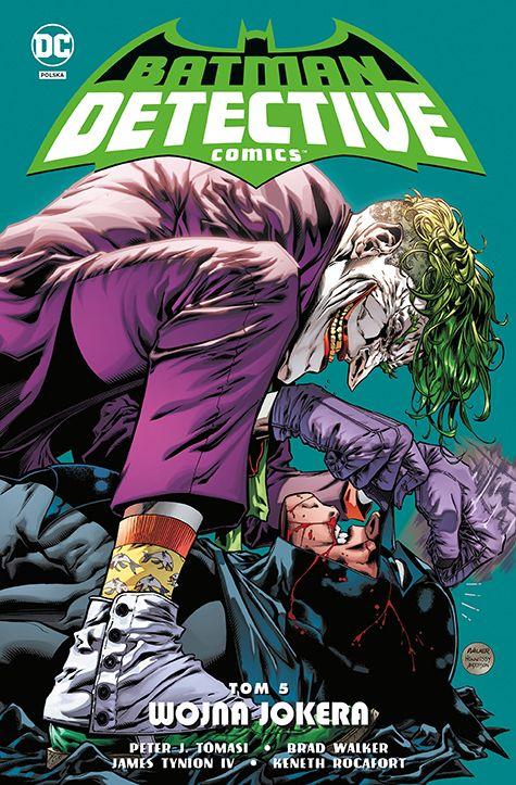Detective Comics, tom 5 - okładka