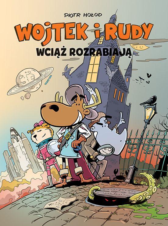 Wojtek i Rudy, tom 3 - okładka