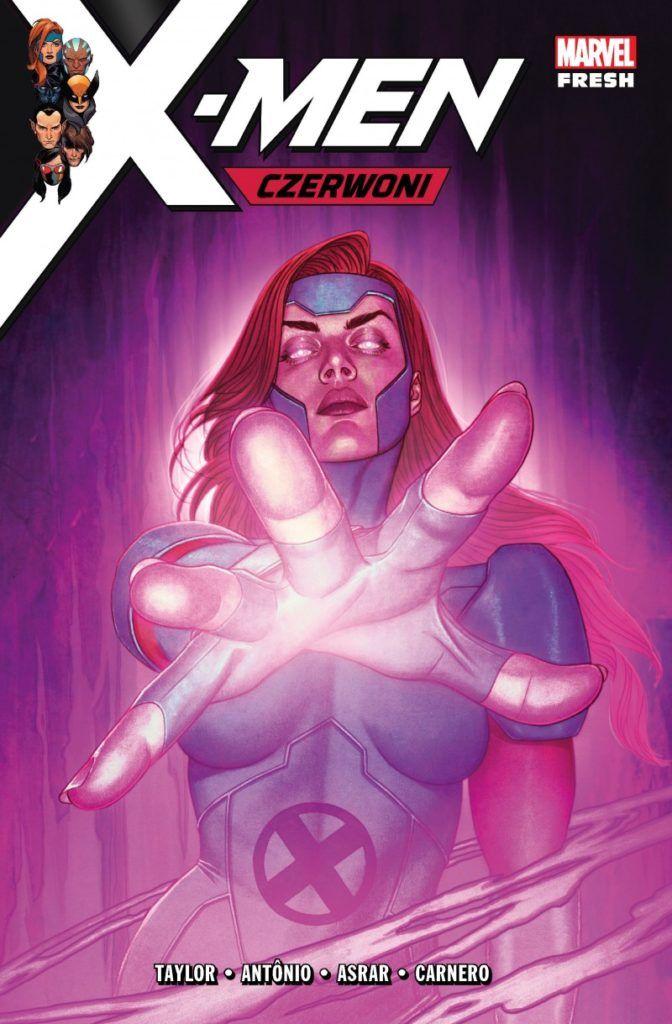 """""""X-Men: Czerwoni"""" - okładka"""