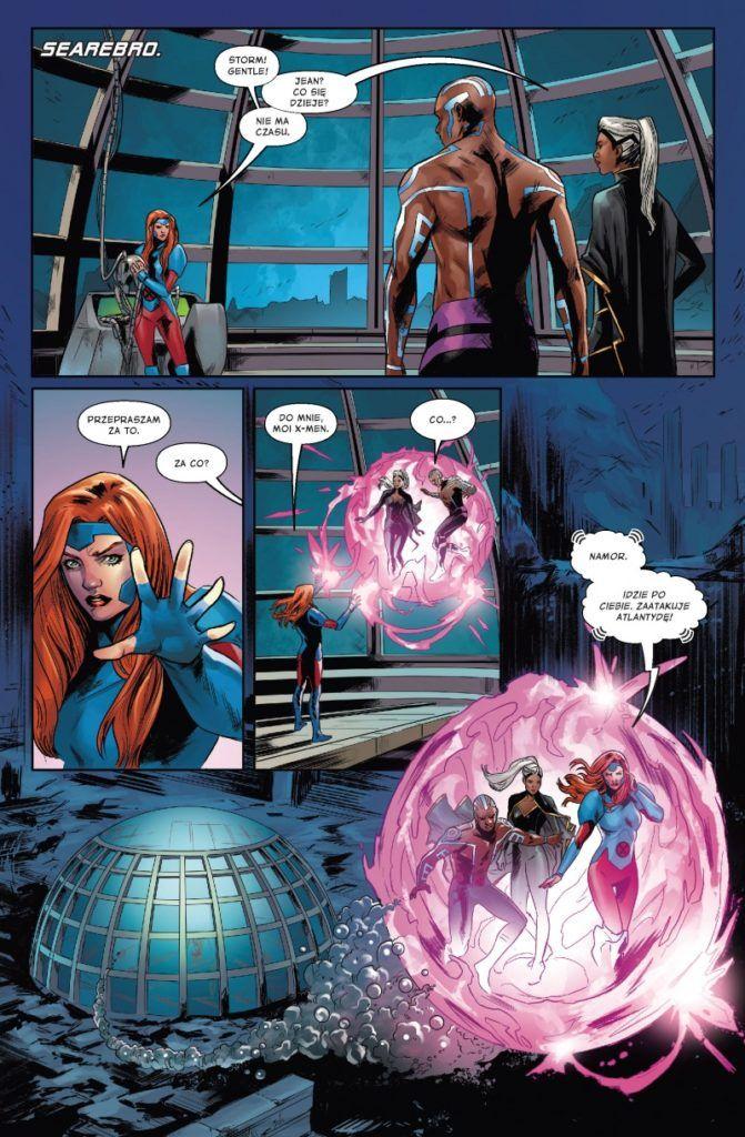 """""""X-Men: Czerwoni"""" - przykładowa strona"""