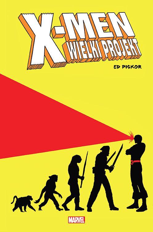 X-men. Wielki Projekt - okładka