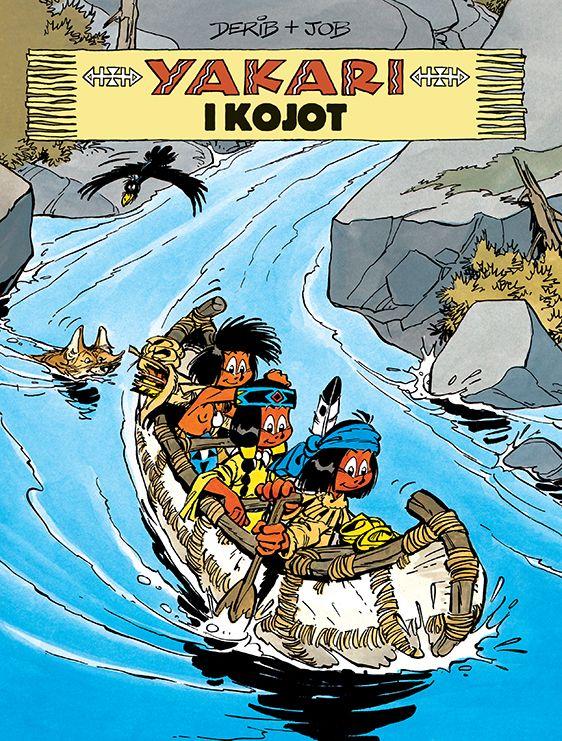 Yakari, tom 12 - okładka